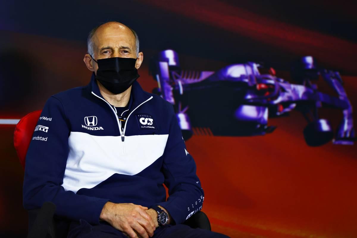 Franz Tost (AUT) AlphaTauri Team Principal in the FIA Press Conference. 07.05.2021 Formula 1 World Championship, Rd 4, Spanish Grand Prix, Barcelona, Spain