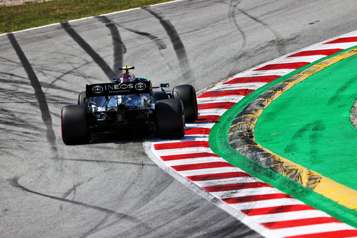 Valtteri Bottas (FIN) Mercedes AMG F1 W12. 07.05.2021 Formula 1 World Championship, Rd 4, Spanish Grand Prix, Barcelona, Spain
