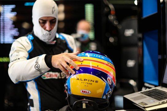 Fernando Alonso (ESP) Alpine F1 Team. 07.05.2021 Formula 1 World Championship, Rd 4, Spanish Grand Prix, Barcelona, Spain, Practice Day. - www.xpbimages.com, EMail: requests@xpbimages.com © Copyright: Charniaux / XPB Images