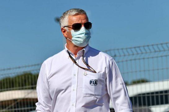 Derek Warwick (GBR) FIA Steward. 08.05.2021. Formula 1 World Championship, Rd 4, Spanish Grand Prix, Barcelona, Spain, Qualifying Day. - www.xpbimages.com, EMail: requests@xpbimages.com © Copyright: Moy / XPB Images