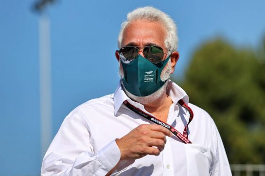 Lawrence Stroll (CDN) Aston Martin F1 Team Investor. 08.05.2021. Formula 1 World Championship, Rd 4, Spanish Grand Prix, Barcelona, Spain, Qualifying Day. - www.xpbimages.com, EMail: requests@xpbimages.com © Copyright: Moy / XPB Images