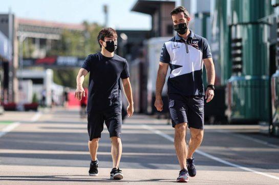 Yuki Tsunoda (JPN) AlphaTauri. 08.05.2021. Formula 1 World Championship, Rd 4, Spanish Grand Prix, Barcelona, Spain, Qualifying Day. - www.xpbimages.com, EMail: requests@xpbimages.com © Copyright: Charniaux / XPB Images