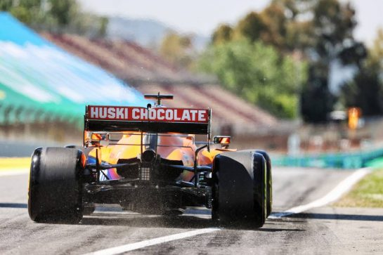 Daniel Ricciardo (AUS) McLaren MCL35M. 08.05.2021. Formula 1 World Championship, Rd 4, Spanish Grand Prix, Barcelona, Spain, Qualifying Day. - www.xpbimages.com, EMail: requests@xpbimages.com © Copyright: Batchelor / XPB Images