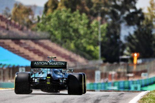 Sebastian Vettel (GER) Aston Martin F1 Team AMR21. 08.05.2021. Formula 1 World Championship, Rd 4, Spanish Grand Prix, Barcelona, Spain, Qualifying Day. - www.xpbimages.com, EMail: requests@xpbimages.com © Copyright: Batchelor / XPB Images
