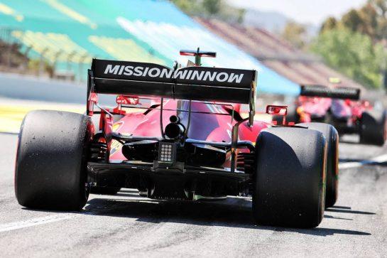 Charles Leclerc (MON) Ferrari SF-21. 08.05.2021. Formula 1 World Championship, Rd 4, Spanish Grand Prix, Barcelona, Spain, Qualifying Day. - www.xpbimages.com, EMail: requests@xpbimages.com © Copyright: Batchelor / XPB Images