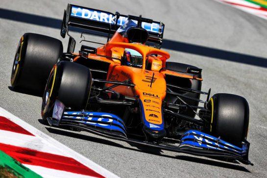 Daniel Ricciardo (AUS) McLaren MCL35M. 08.05.2021. Formula 1 World Championship, Rd 4, Spanish Grand Prix, Barcelona, Spain, Qualifying Day. - www.xpbimages.com, EMail: requests@xpbimages.com © Copyright: Moy / XPB Images
