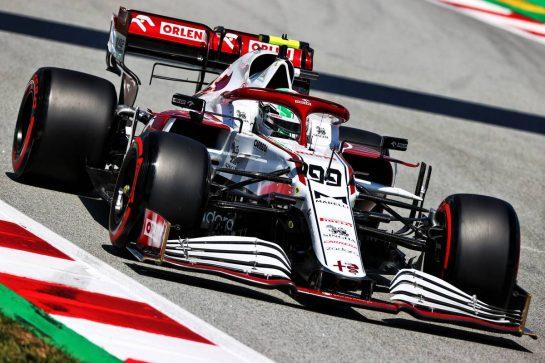 Antonio Giovinazzi (ITA) Alfa Romeo Racing C41. 08.05.2021. Formula 1 World Championship, Rd 4, Spanish Grand Prix, Barcelona, Spain, Qualifying Day. - www.xpbimages.com, EMail: requests@xpbimages.com © Copyright: Moy / XPB Images