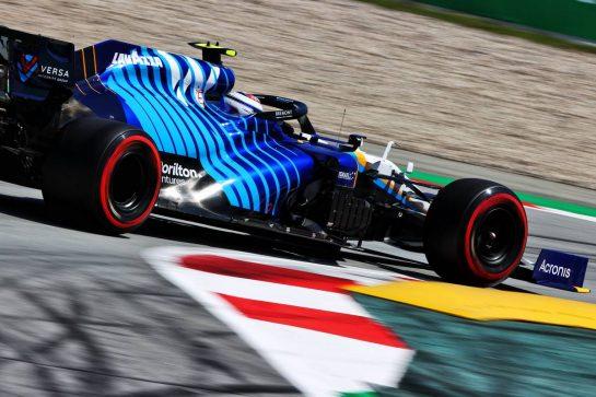 Nicholas Latifi (CDN) Williams Racing FW43B. 08.05.2021. Formula 1 World Championship, Rd 4, Spanish Grand Prix, Barcelona, Spain, Qualifying Day. - www.xpbimages.com, EMail: requests@xpbimages.com © Copyright: Moy / XPB Images