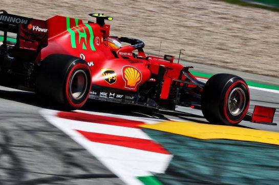 Carlos Sainz Jr (ESP) Ferrari SF-21. 08.05.2021. Formula 1 World Championship, Rd 4, Spanish Grand Prix, Barcelona, Spain, Qualifying Day. - www.xpbimages.com, EMail: requests@xpbimages.com © Copyright: Moy / XPB Images