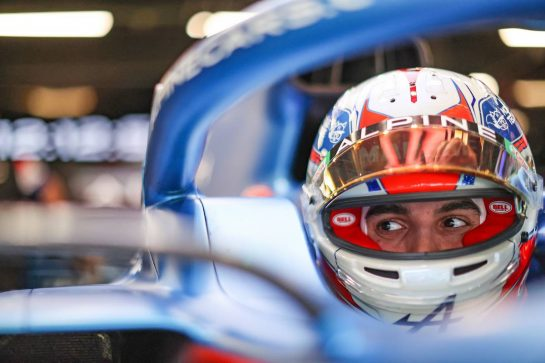 Esteban Ocon (FRA) Alpine F1 Team A521. 08.05.2021. Formula 1 World Championship, Rd 4, Spanish Grand Prix, Barcelona, Spain, Qualifying Day. - www.xpbimages.com, EMail: requests@xpbimages.com © Copyright: Charniaux / XPB Images