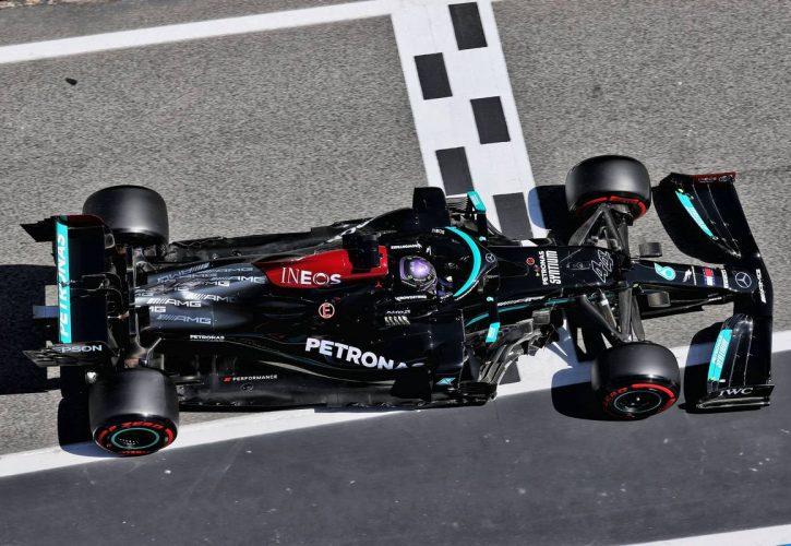 Lewis Hamilton (GBR) Mercedes AMG F1 W12. 08.05.2021. Formula 1 World Championship, Rd 4, Spanish Grand Prix, Barcelona