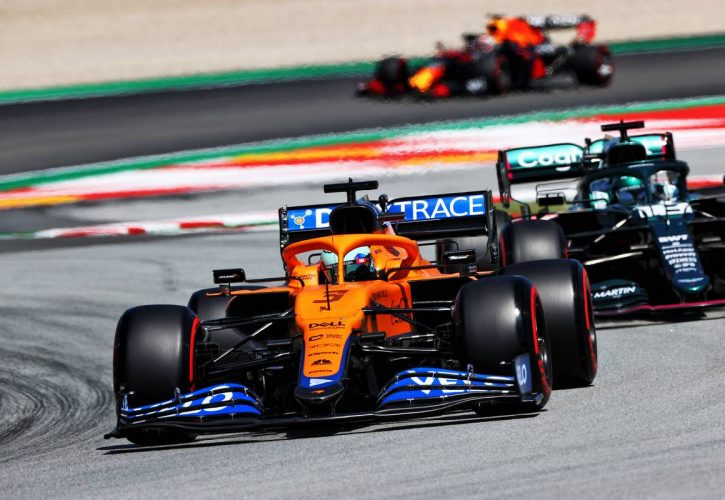 Daniel Ricciardo (AUS) McLaren MCL35M. 08.05.2021. Formula 1 World Championship, Rd 4, Spanish Grand Prix, Barcelona