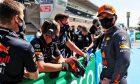 Max Verstappen (NLD) Red Bull Racing in qualifying parc ferme. 08.05.2021. Formula 1 World Championship, Rd 4, Spanish Grand Prix, Barcelona