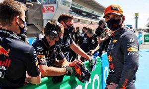 Verstappen settles for front row: 'Mercedes hard to beat here'