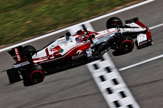 Kimi Raikkonen (FIN) Alfa Romeo Racing C41. 08.05.2021. Formula 1 World Championship, Rd 4, Spanish Grand Prix, Barcelona, Spain, Qualifying Day. - www.xpbimages.com, EMail: requests@xpbimages.com © Copyright: Batchelor / XPB Images