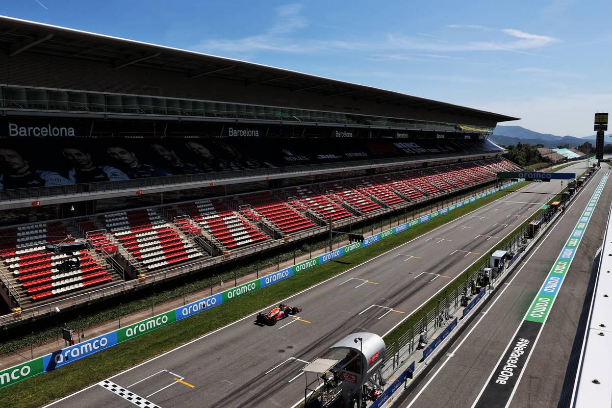 Sergio Perez (MEX) Red Bull Racing RB16B. 08.05.2021. Formula 1 World Championship, Rd 4, Spanish Grand Prix, Barcelona