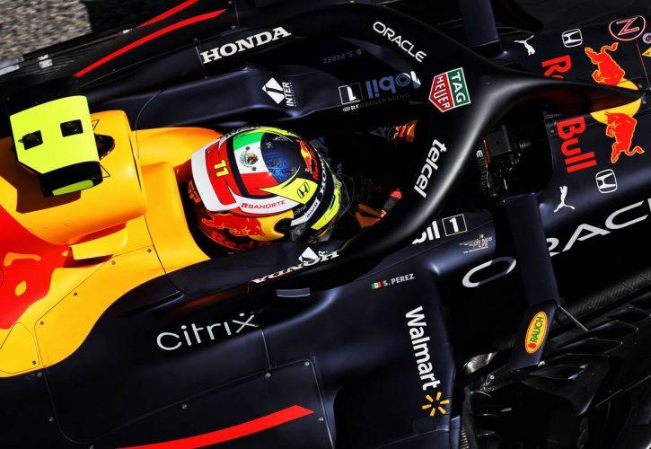 Sergio Perez (MEX) Red Bull Racing RB16B. 08.05.2021. Formula 1 World Championship, Rd 4, Spanish Grand Prix, Barcelona, Spain
