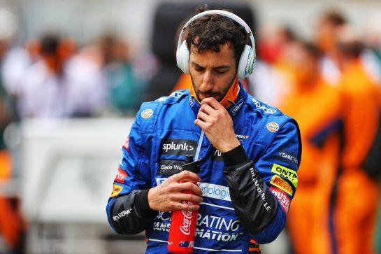 Daniel Ricciardo (AUS) McLaren on the grid. 09.05.2021. Formula 1 World Championship, Rd 4, Spanish Grand Prix, Barcelona, Spain, Race Day. - www.xpbimages.com, EMail: requests@xpbimages.com © Copyright: Moy / XPB Images