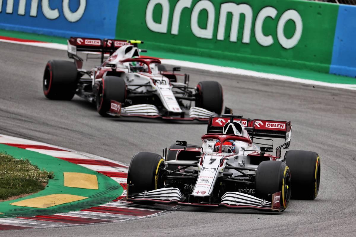 Kimi Raikkonen (FIN) Alfa Romeo Racing C41. 09.05.2021. Formula 1 World Championship, Rd 4, Spanish Grand Prix, Barcelona