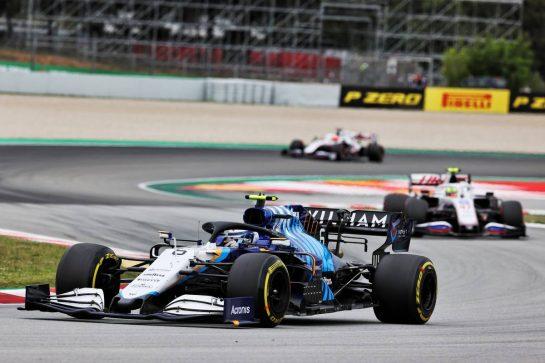 Nicholas Latifi (CDN) Williams Racing FW43B. 09.05.2021. Formula 1 World Championship, Rd 4, Spanish Grand Prix, Barcelona, Spain, Race Day. - www.xpbimages.com, EMail: requests@xpbimages.com © Copyright: Batchelor / XPB Images