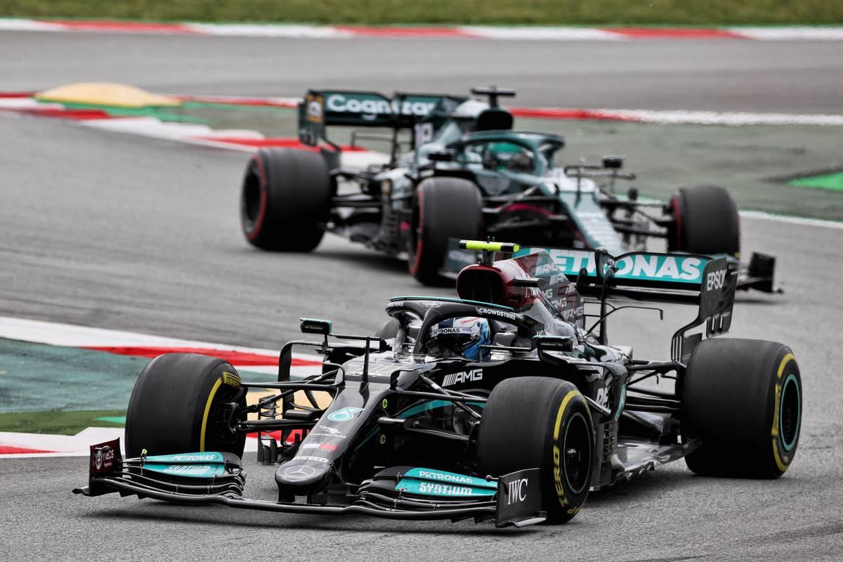 Bottas defends not giving way to Hamilton in Spain