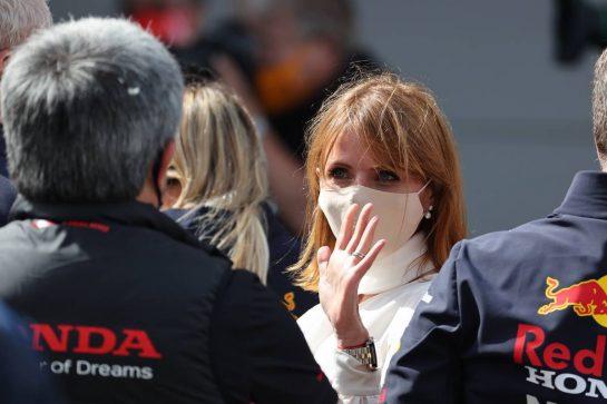 Geri Horner(GBR) Singer 09.05.2021. Formula 1 World Championship, Rd 4, Spanish Grand Prix, Barcelona, Spain, Race Day.- www.xpbimages.com, EMail: requests@xpbimages.com © Copyright: Batchelor / XPB Images