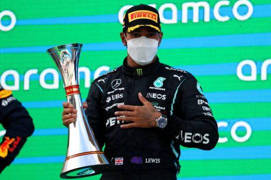 1st place Lewis Hamilton (GBR) Mercedes AMG F1 W12.09.05.2021. Formula 1 World Championship, Rd 4, Spanish Grand Prix, Barcelona, Spain, Race Day.- www.xpbimages.com, EMail: requests@xpbimages.com © Copyright: Batchelor / XPB Images