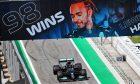 Race winner Lewis Hamilton (GBR) Mercedes AMG F1 W12 enters parc ferme. 09.05.2021. Formula 1 World Championship, Rd 4, Spanish Grand Prix, Barcelona