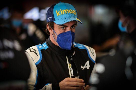 Fernando Alonso (ESP) Alpine F1 Team. 09.05.2021. Formula 1 World Championship, Rd 4, Spanish Grand Prix, Barcelona, Spain, Race Day. - www.xpbimages.com, EMail: requests@xpbimages.com © Copyright: Charniaux / XPB Images