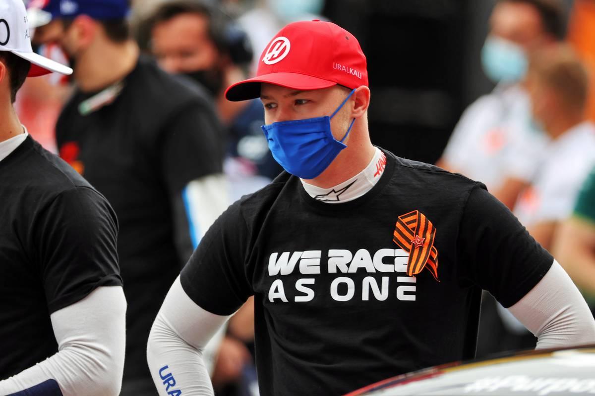 Nikita Mazepin (RUS) Haas F1 Team on the grid. 09.05.2021. Formula 1 World Championship, Rd 4, Spanish Grand Prix