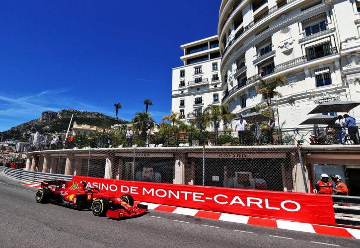 Carlos Sainz Jr (ESP) Ferrari SF-21. 20.05.2021. Formula 1 World Championship, Rd 5, Monaco Grand Prix