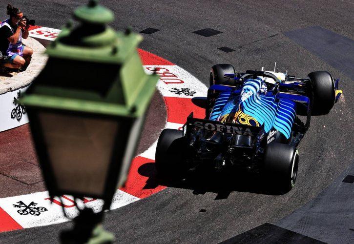 George Russell (GBR) Williams Racing FW43B. 20.05.2021. Formula 1 World Championship, Rd 5, Monaco Grand Prix