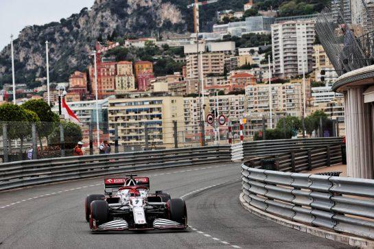 Kimi Raikkonen (FIN) Alfa Romeo Racing C41. 22.05.2021. Formula 1 World Championship, Rd 5, Monaco Grand Prix, Monte Carlo, Monaco, Qualifying Day. - www.xpbimages.com, EMail: requests@xpbimages.com © Copyright: Batchelor / XPB Images