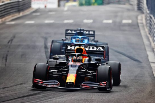 Max Verstappen (NLD) Red Bull Racing RB16B. 22.05.2021. Formula 1 World Championship, Rd 5, Monaco Grand Prix, Monte Carlo, Monaco, Qualifying Day. - www.xpbimages.com, EMail: requests@xpbimages.com © Copyright: Moy / XPB Images