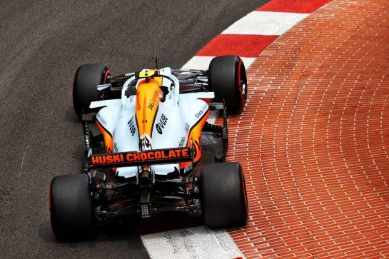 Lando Norris (GBR) McLaren MCL35M. 22.05.2021. Formula 1 World Championship, Rd 5, Monaco Grand Prix, Monte Carlo, Monaco, Qualifying Day. - www.xpbimages.com, EMail: requests@xpbimages.com © Copyright: Moy / XPB Images