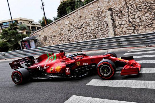 Charles Leclerc (MON) Ferrari SF-21. 22.05.2021. Formula 1 World Championship, Rd 5, Monaco Grand Prix, Monte Carlo, Monaco, Qualifying Day. - www.xpbimages.com, EMail: requests@xpbimages.com © Copyright: Batchelor / XPB Images