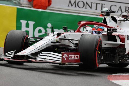 Kimi Raikkonen (FIN) Alfa Romeo Racing C41.22.05.2021. Formula 1 World Championship, Rd 5, Monaco Grand Prix, Monte Carlo, Monaco, Qualifying Day.- www.xpbimages.com, EMail: requests@xpbimages.com © Copyright: Batchelor / XPB Images