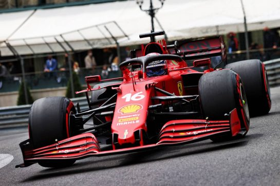 Charles Leclerc (MON) Ferrari SF-21. 22.05.2021. Formula 1 World Championship, Rd 5, Monaco Grand Prix, Monte Carlo, Monaco, Qualifying Day. - www.xpbimages.com, EMail: requests@xpbimages.com © Copyright: Moy / XPB Images