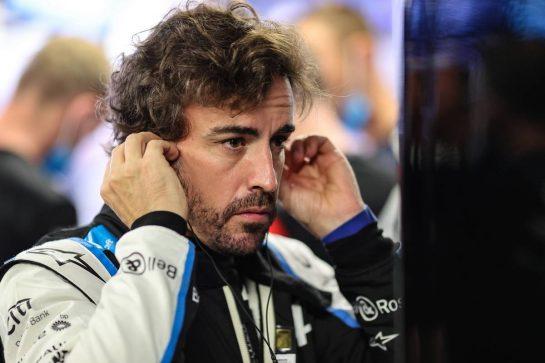 Fernando Alonso (ESP) Alpine F1 Team. 22.05.2021. Formula 1 World Championship, Rd 5, Monaco Grand Prix, Monte Carlo, Monaco, Qualifying Day. - www.xpbimages.com, EMail: requests@xpbimages.com © Copyright: Charniaux / XPB Images