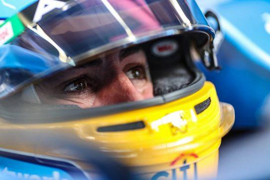 Fernando Alonso (ESP) Alpine F1 Team A521. 22.05.2021. Formula 1 World Championship, Rd 5, Monaco Grand Prix, Monte Carlo, Monaco, Qualifying Day. - www.xpbimages.com, EMail: requests@xpbimages.com © Copyright: Charniaux / XPB Images
