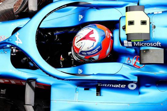 Esteban Ocon (FRA) Alpine F1 Team A521. 22.05.2021. Formula 1 World Championship, Rd 5, Monaco Grand Prix, Monte Carlo, Monaco, Qualifying Day. - www.xpbimages.com, EMail: requests@xpbimages.com © Copyright: Charniaux / XPB Images