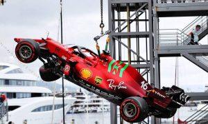 Ferrari reveals cause of Leclerc driveshaft failure