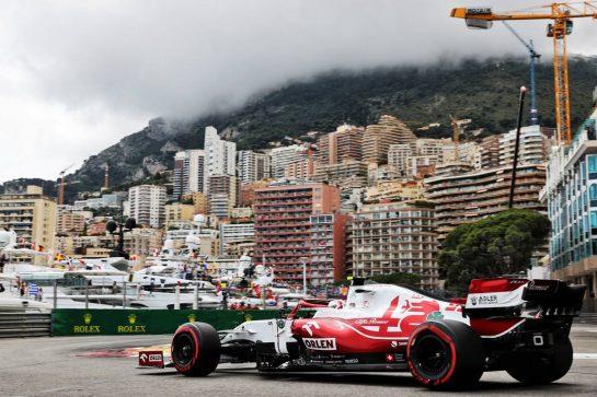Antonio Giovinazzi (ITA) Alfa Romeo Racing C41. 22.05.2021. Formula 1 World Championship, Rd 5, Monaco Grand Prix, Monte Carlo, Monaco, Qualifying Day. - www.xpbimages.com, EMail: requests@xpbimages.com © Copyright: Batchelor / XPB Images