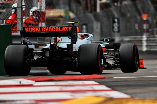 Lando Norris (GBR) McLaren MCL35M. 22.05.2021. Formula 1 World Championship, Rd 5, Monaco Grand Prix, Monte Carlo, Monaco, Qualifying Day. - www.xpbimages.com, EMail: requests@xpbimages.com © Copyright: Batchelor / XPB Images