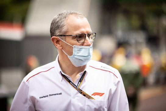 Stefano Domenicali (ITA) Formula One President and CEO. 22.05.2021. Formula 1 World Championship, Rd 5, Monaco Grand Prix, Monte Carlo, Monaco, Qualifying Day. - www.xpbimages.com, EMail: requests@xpbimages.com © Copyright: Bearne / XPB Images