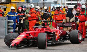 Ferrari says 'no serious damage' to Leclerc's gearbox