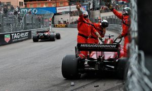 FIA to consider IndyCar red flag rule after Leclerc crash