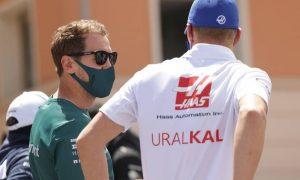 Schumacher getting lots of good advice from 'friend' Vettel