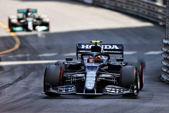 Pierre Gasly (FRA) AlphaTauri AT02. 23.05.2021. Formula 1 World Championship, Rd 5, Monaco Grand Prix, Monte Carlo, Monaco, Race Day. - www.xpbimages.com, EMail: requests@xpbimages.com © Copyright: Moy / XPB Images