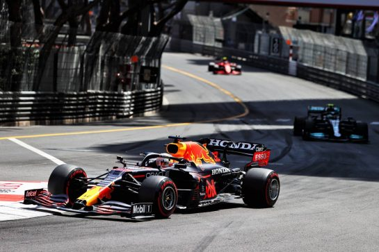 Max Verstappen (NLD) Red Bull Racing RB16B. 23.05.2021. Formula 1 World Championship, Rd 5, Monaco Grand Prix, Monte Carlo, Monaco, Race Day. - www.xpbimages.com, EMail: requests@xpbimages.com © Copyright: Moy / XPB Images